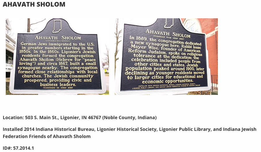 History Resources - Indiana Jewish Historical Society